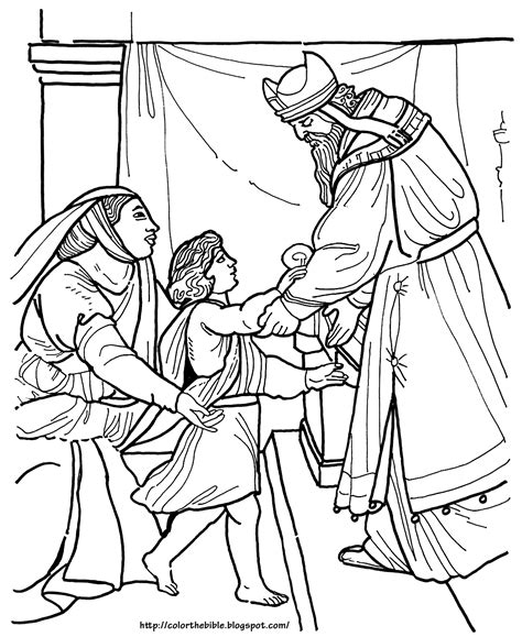 hannah and samuel bible coloring pages coloring pages