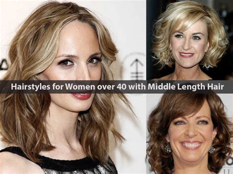 hairstyles for women in their 40s and fat 20 most suitable hairstyles for women over 40 with middle