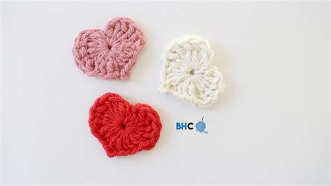 Crochet Heart Pattern Magic Circle   how to crochet a heart using magic ring beginner friendly
