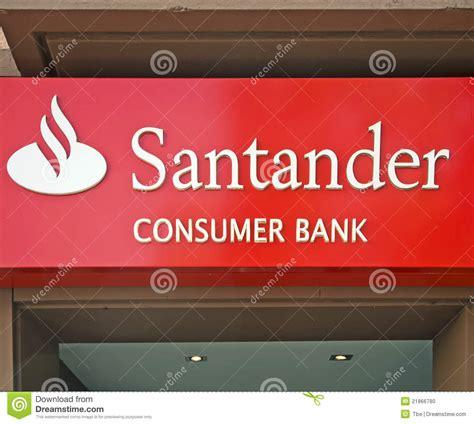 santander bank worms banco santander editorial image image 21866780