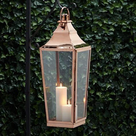 outdoor patio candle lanterns high copper candle lantern patio torches and