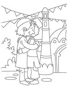 Eid Mubarak Coloring Pages eid milan coloring page free eid milan coloring