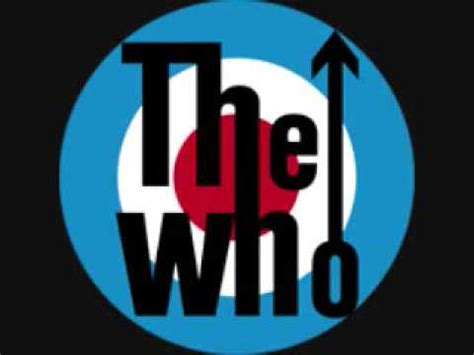 Who Are The The Who Who Are You Lyrics Version