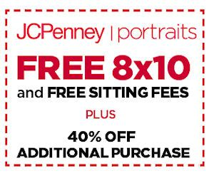 jcpenney portrait coupons printable no sitting fee jcpenney portraits free 8x10 portrait free sitting