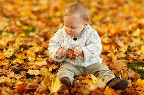 free photo autumn fall baby boy child free