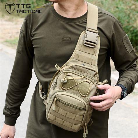 Tas Tactical Sling Bag ttgtactical army fan sling bag multi use combat single shoulder bag molle