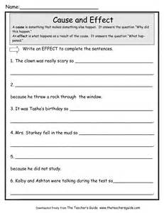 cause and effect worksheet worksheet amp workbook site