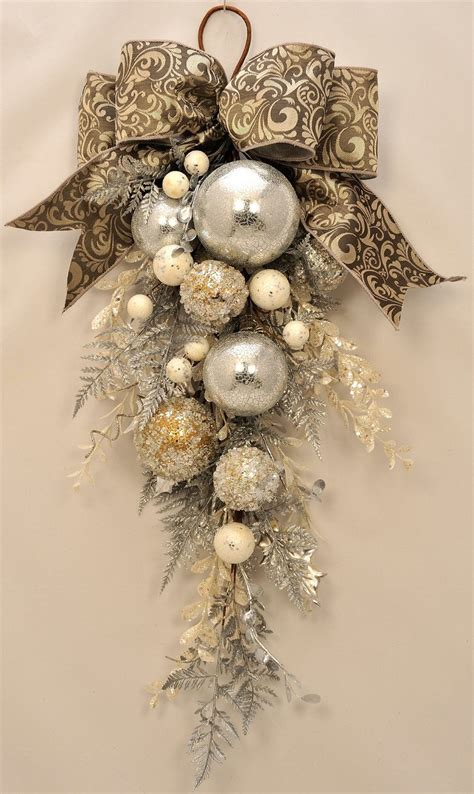 elegant christmas stunning ornament and crystal