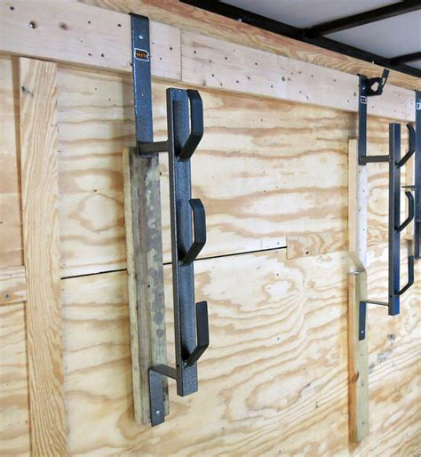 Enclosed Trailer Trimmer Racks by Trimmer Rack For Enclosed Cargo Trailers Rackem Trailer