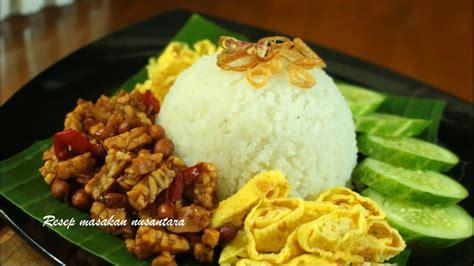 vidio membuat nasi uduk resep nasi uduk rice cooker mudah gurih dan lezat youtube