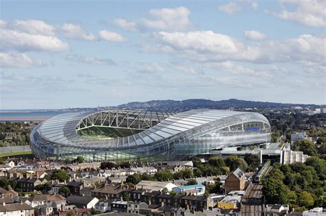 Houses Magazine aviva stadium populous
