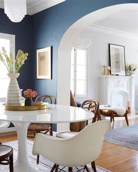 Don T Be Afraid To Use A Darker Bold Color Like Ginny Bold Dining Room Colors