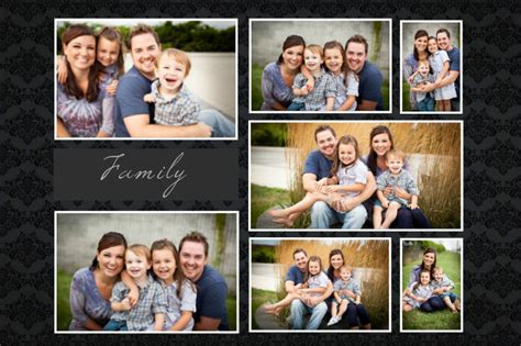 poster collage layout postermywall custom family collage template