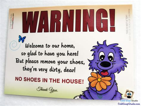 no shoes in the house no shoes in the house sign take off your shoes welcome home door sign rainy