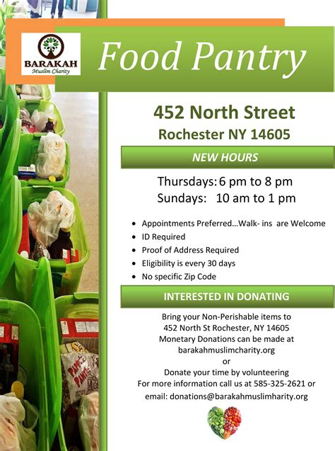 Food Pantries In Rochester Ny by Food Bank Islamic Center Of Rochester