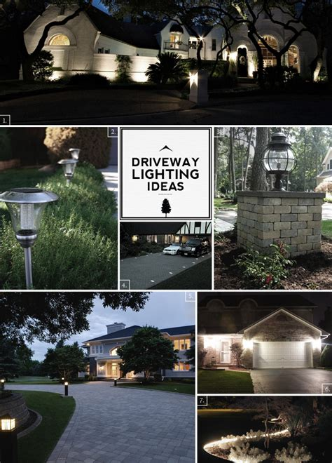driveway lighting ideas from the road to the front door home tree atlas