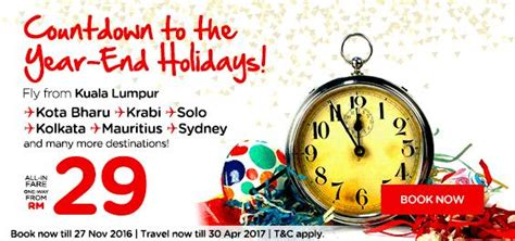 airasia year end offer airasia year end holidays promotion airasia promotions