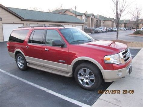 repair anti lock braking 2007 ford expedition el seat position control purchase used 2007 ford expedition el eddie bauer in huntsville alabama united states for us