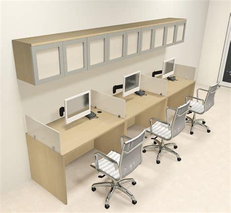 3 person office desk three person modern divider office workstation desk set