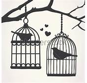 Silhouette Png Bird Cage Silhouettes Stock Vector Clipartme
