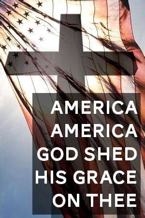 America America God Shed His Grace On Thee god shed his grace on thee usa grace o