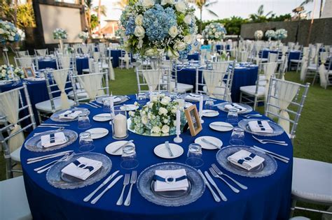 [Royal Santrian] Royal Blue & Silver Wedding