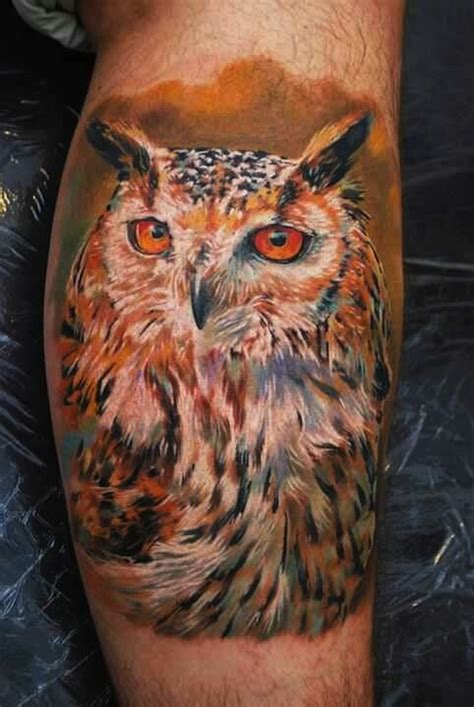 realistic owl tattoo 120 owl tattoos that will keep you awake