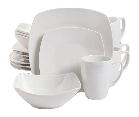 boat dinnerware set gibson home 16 piece zen buffetware dinnerware set white