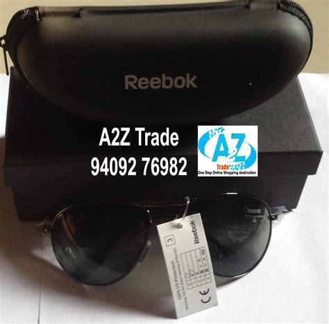 B2015 Black reebok premier sunglasses model b2015 d on 70 discount