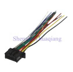 car iso harness stereo wire adapter wiring connector cable for pioneer 2350 in cables adapters