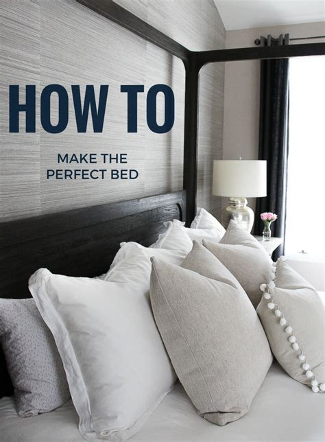 how to make the perfect bed how to make the perfect bed the greenspring home