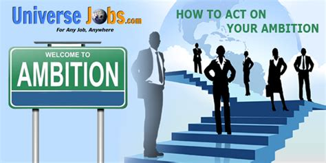 5 effective ways how to act on your ambition