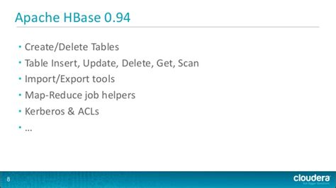 how to create table in hbase hbase lon meetup
