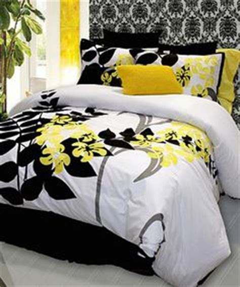 black white and yellow bedroom 1000 images about bedding on pinterest comforter sets