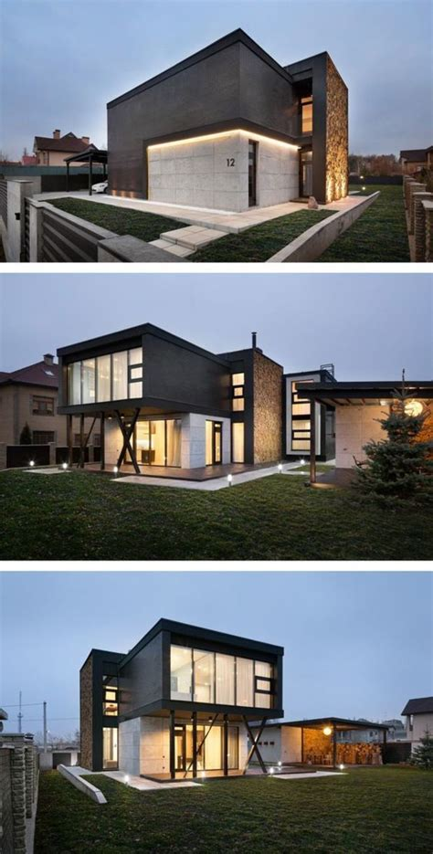 contemporary houses 25 best ideas about house architecture on pinterest