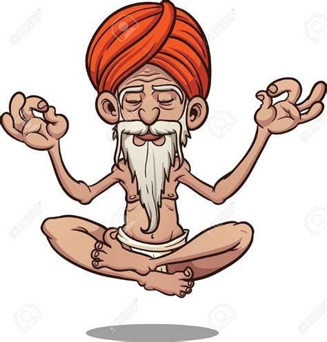 Of A Guru floating guru clipart