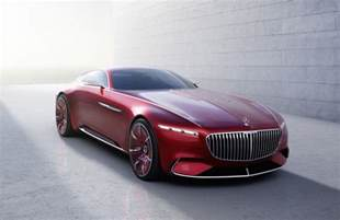 Mercedes Maybach Mercedes Maybach Vision 6 Concept Leaks Out Early