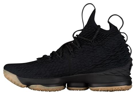 nike lebron 15 black gum release date 897648 300 sole collector