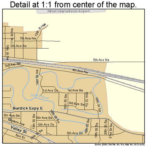 minot dakota map minot dakota map 3853380