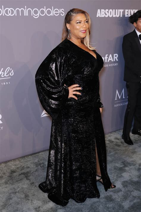 Amfar At Ciprianis by Latifah At The Amfar Gala New York 2018 At Cipriani