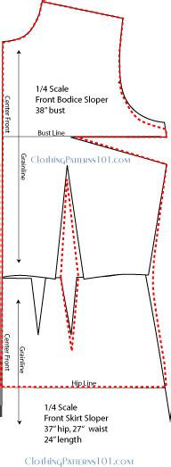 pattern making ease how to draft a fitted shirt or blouse