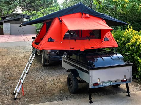 jeep cing trailer how to build a roof top tent trailer best tent 2017