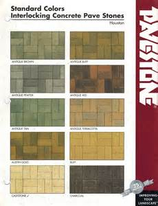 pavestone colors concrete pavers colors