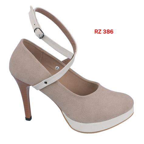 High Heels R02 Sintetis sandal high heels sintetis sol fiber heel 13 cm gudang fashion wanita
