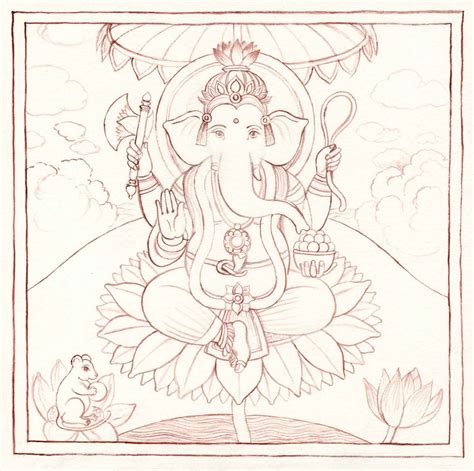 ganesh tattoo outline ganesha outline tattoo design real photo pictures