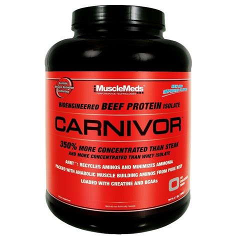 Whey Carnivor musclemeds carnivor