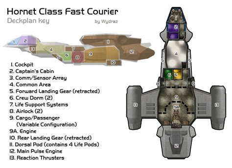 Small Log Cabin Floor Plans And Pictures Hornet Class Spaceship By Greenfaerie