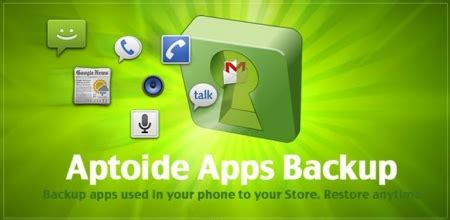 aptoide backup aptoide backup apps sms android 1 6