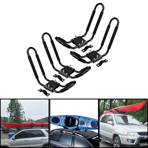 boat carrier for suv j bar 2 pairs universal kayak canoe top mount carrier roof