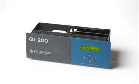 qt layout weight qt 200 control module cambridge sound management